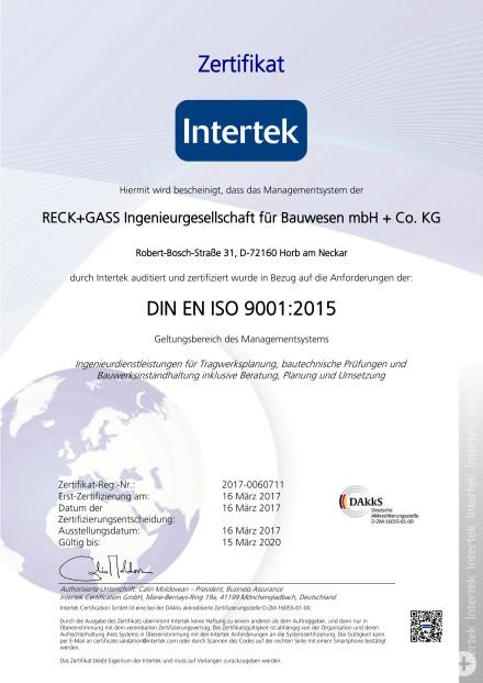 Zertifikat DIN ISO 9001_2017