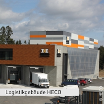 Logistikgebäude HECO